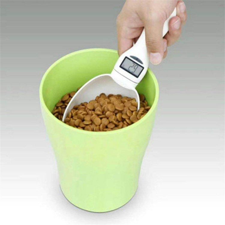ペット用食物計り 食品計量スプーン 電子計量スプーン 計り スプーンスケール 過食防止 肥満対策 ペット スプーン 計量スプーン