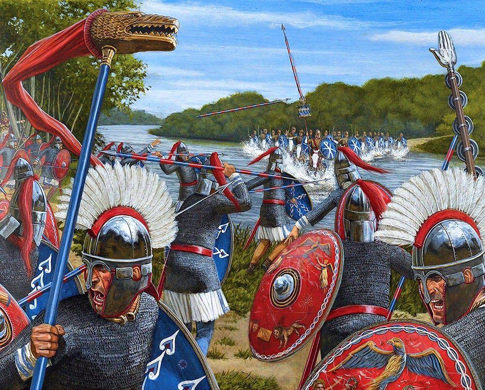 10 Things You Should Know About The Achaemenid Persian Empire: Soldati Romani Del Tardo Impero