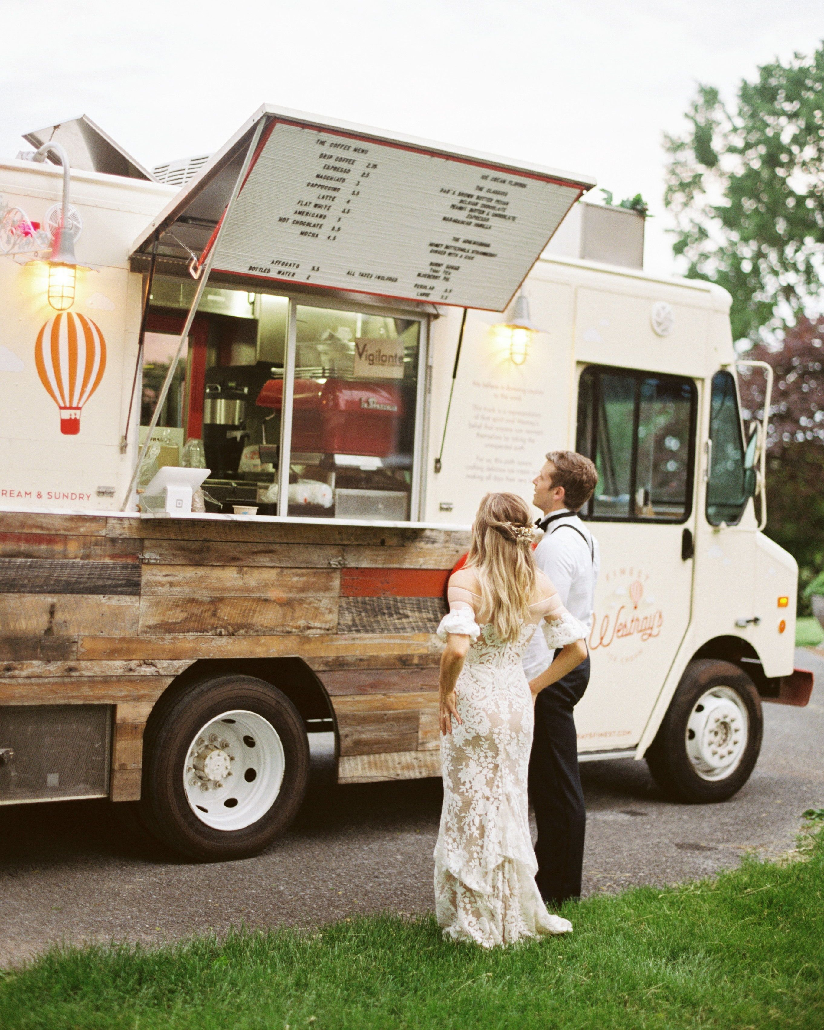 Mobile Bars And Food Trucks That Can Roll Right Up To Your Party Food Truck Design Coffee Food Truck Food Truck Wedding