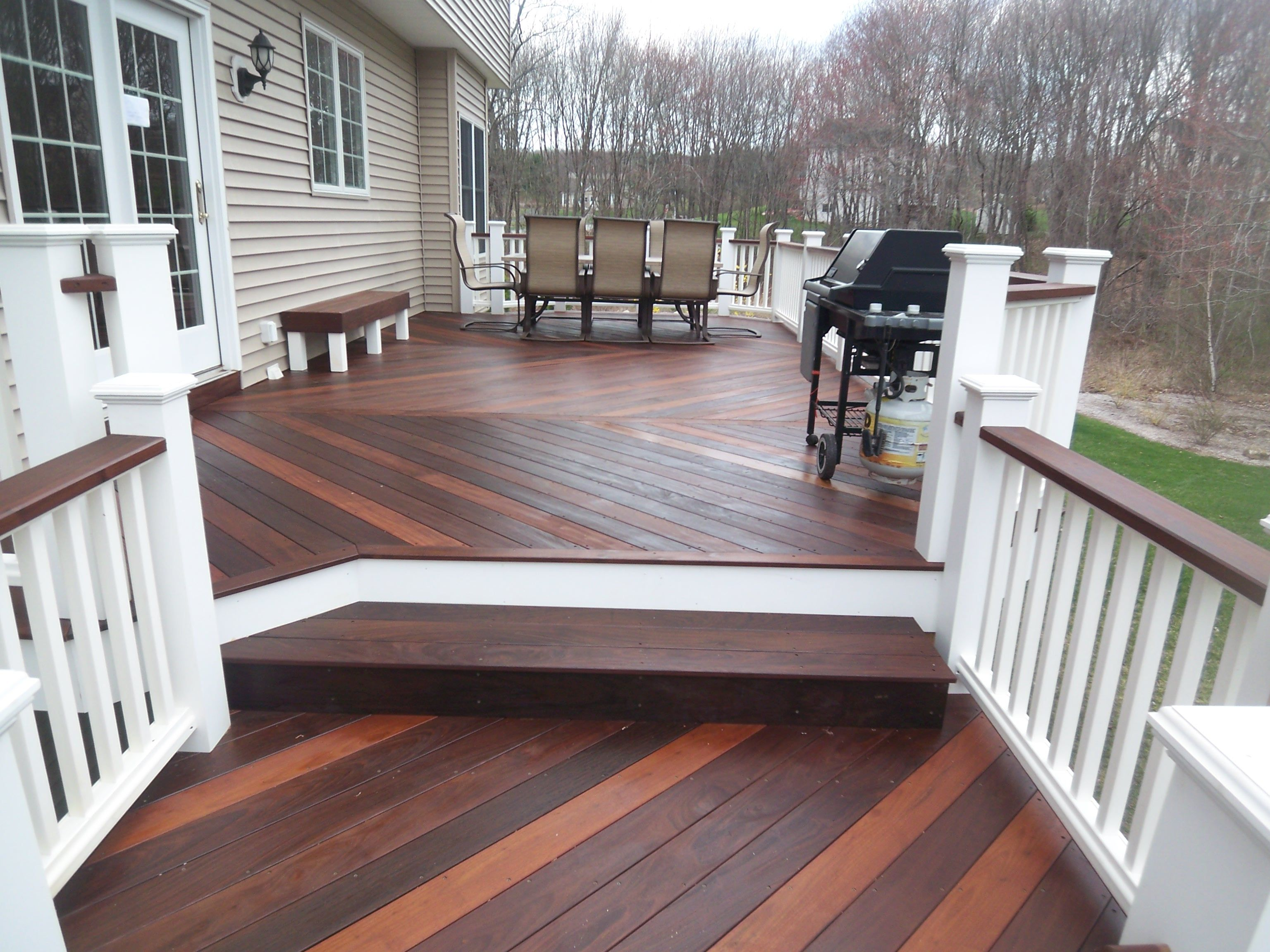 Vinyl Deck Design Ideas Collection Of Deck Pictures And Deck