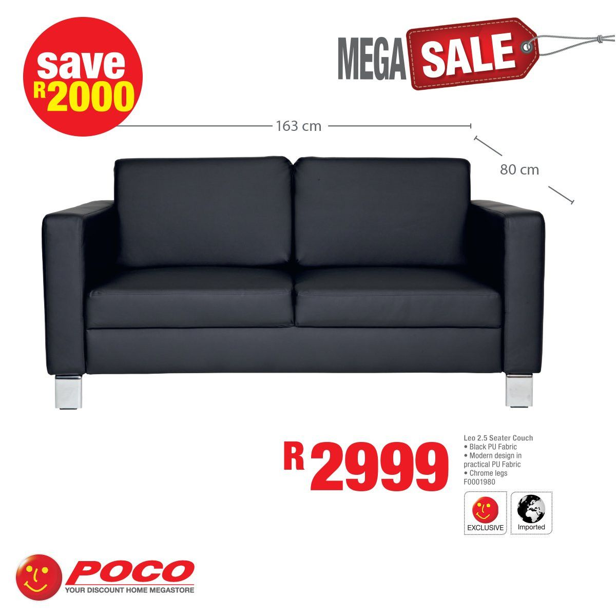 Positiv Poco Sofa Leather Sofa Bed Faux Leather Sofa Leather Corner Sofa