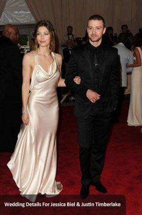 #Wedding Details For Jessica Biel