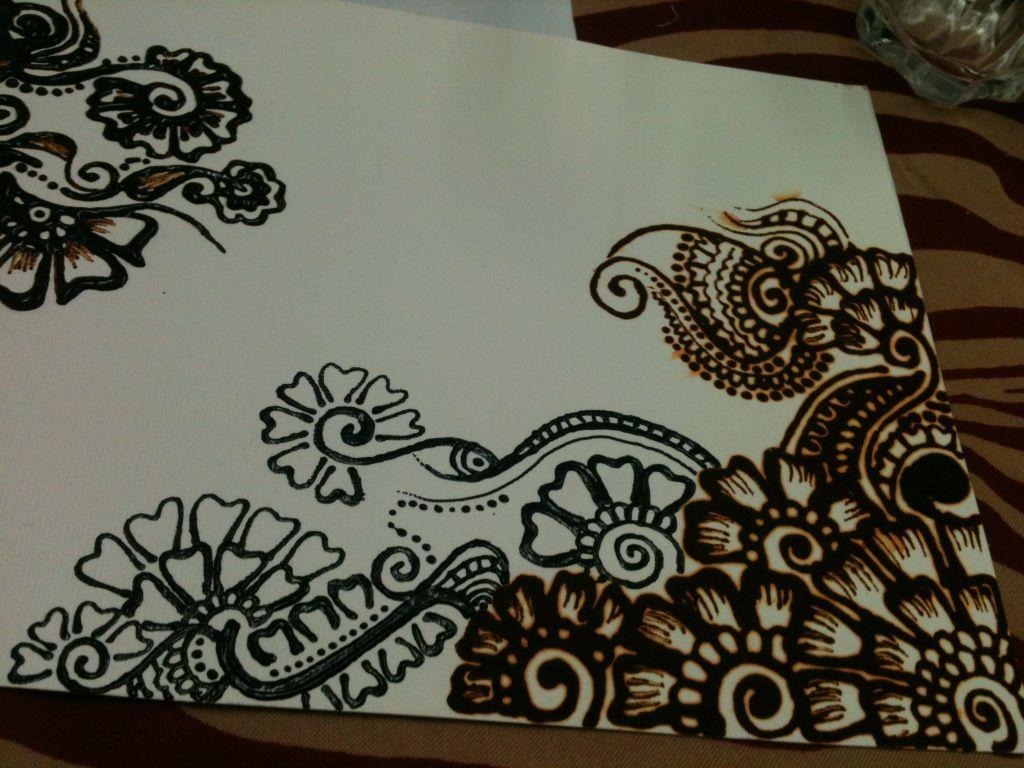 my henna design on paper henna henna designs henna