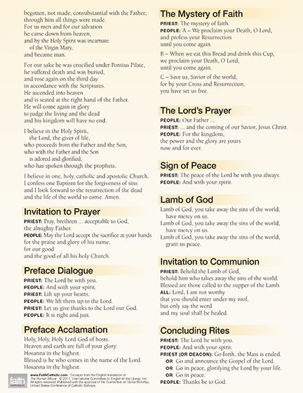 picture regarding New Mass Responses Printable called M Prayers Feed-back CatholicTV Quotations Prayers