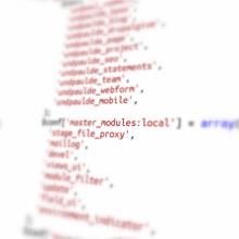 Einsatz des Master Moduls in Drupal Projekten