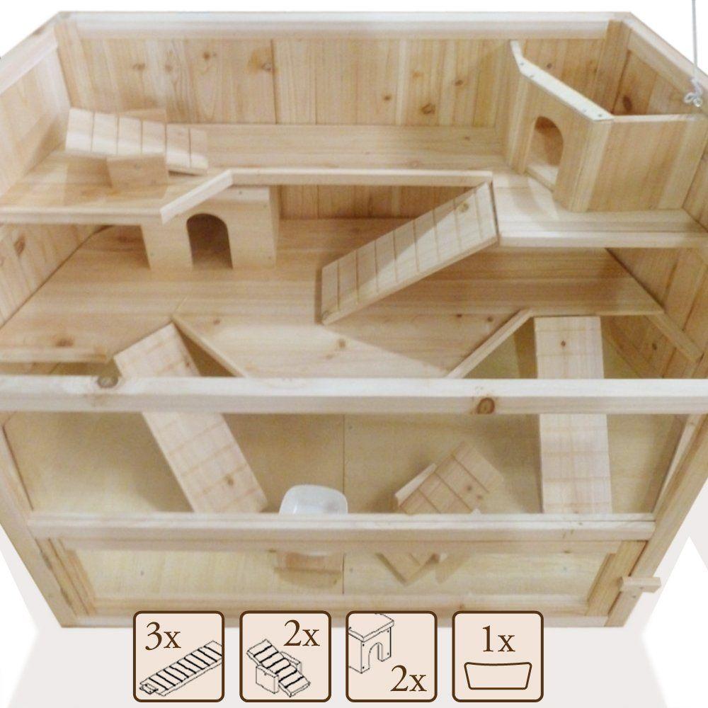 xxl hamsterk fig nagerstall kleintierk fig m usek fig rattenk fig nagervilla. Black Bedroom Furniture Sets. Home Design Ideas