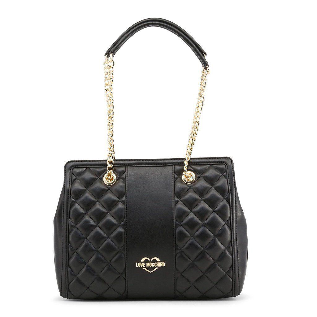 87d6d2485b6ad Love Moschino JC4006PP16LA. Love Moschino JC4006PP16LA Black Shoulder Bag  ...