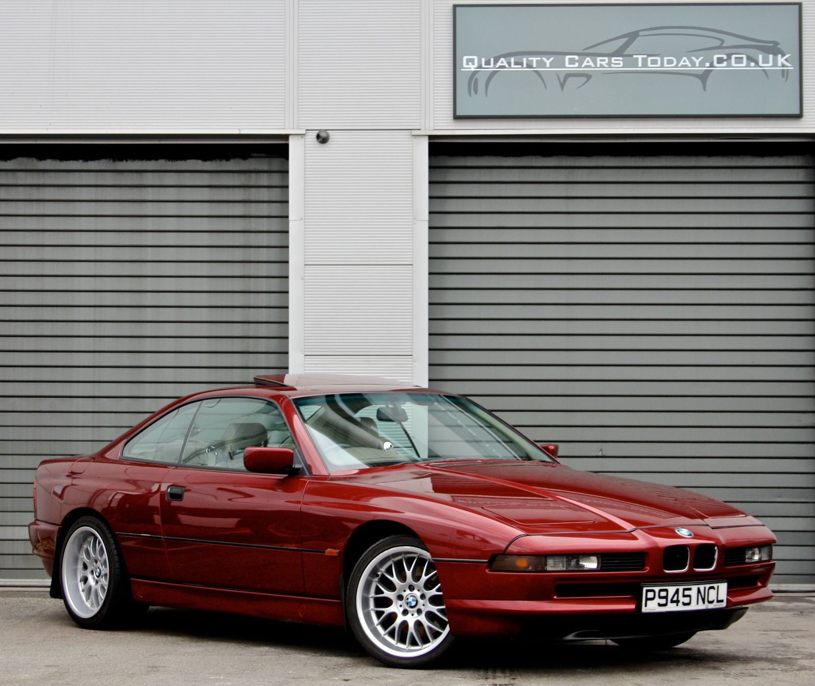 1996 Bmw 8 Series 840ci 840 Coupe 4 4 V8 Calypso Red 1 Owner