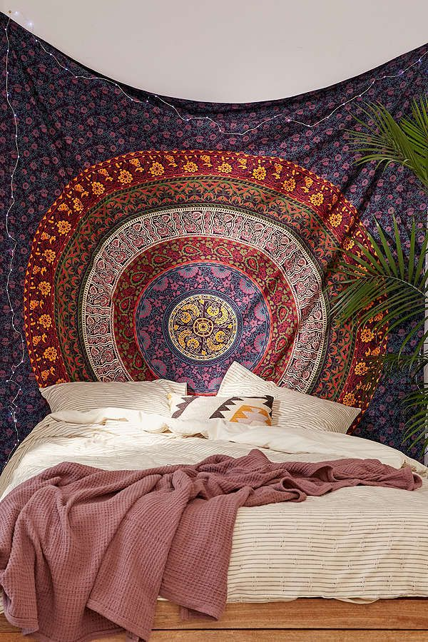 This Urban Outfitters Plum & Bow Medallion Tapestry would be perfect ...