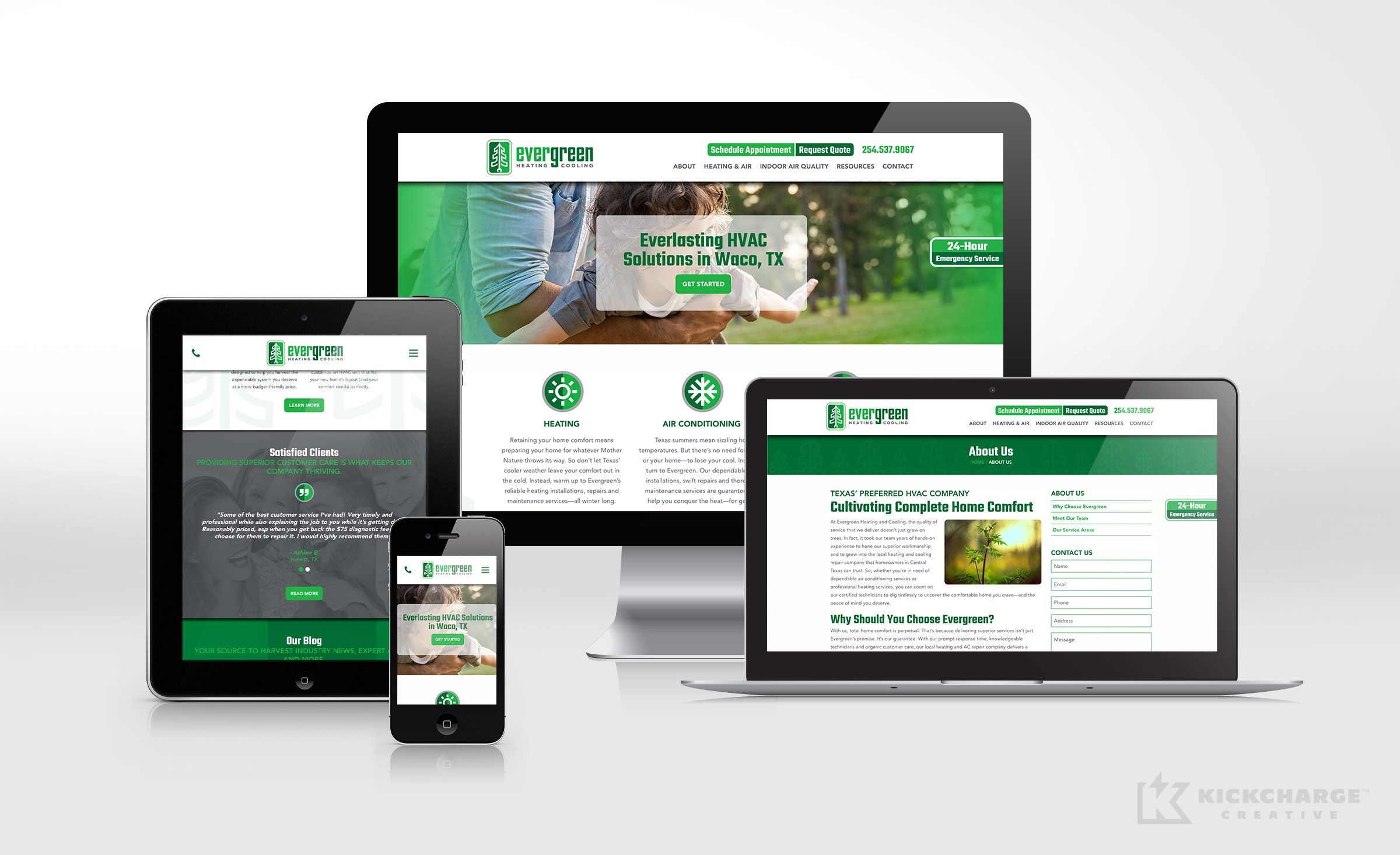Website Design For This Waco Tx Based Hvac Company Nj Advertising Agency Nj Ad Agency Nj Web Design Nj Lo Portfolio Web Design Web Design Website Design