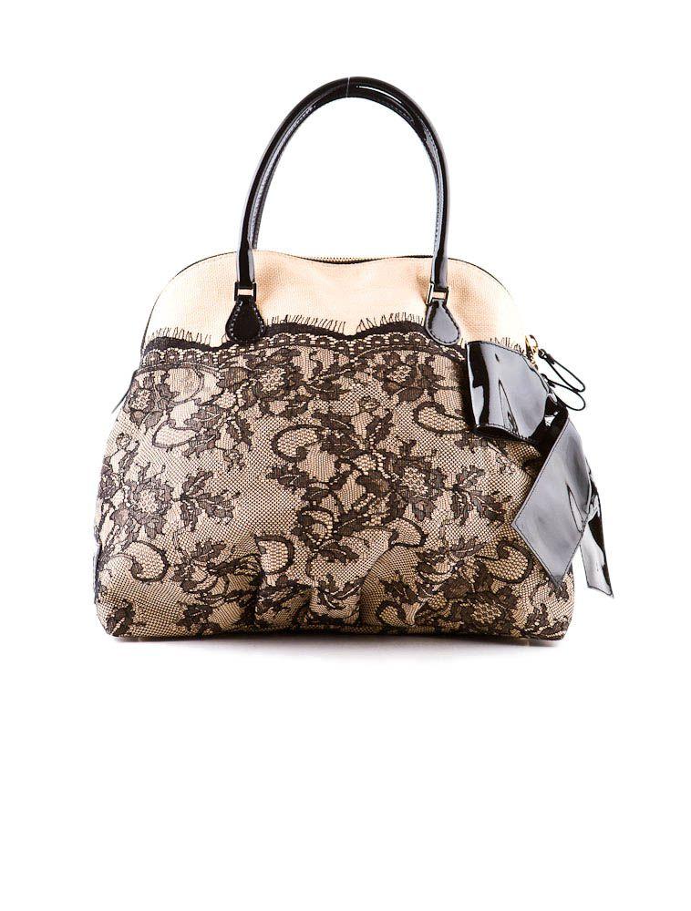 Valentino Lace Bag Dantel