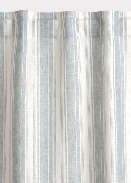 Air Curtain Hidden Loop Light Grey Blue Curtains Living Room Linum Blue Curtains Living Room Curtains Curtain Lights