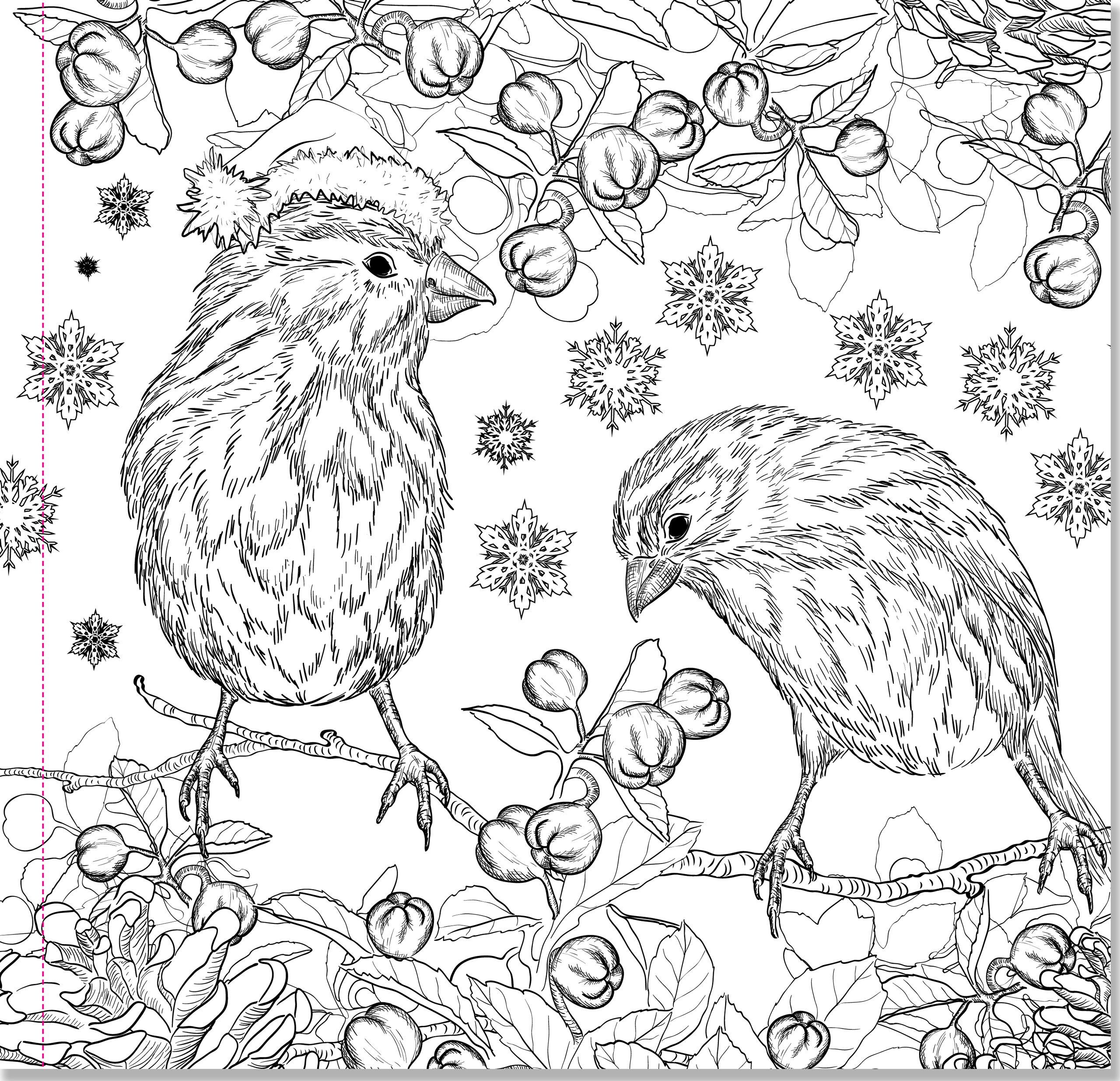 Amazon Christmas Designs Adult Coloring Book 31