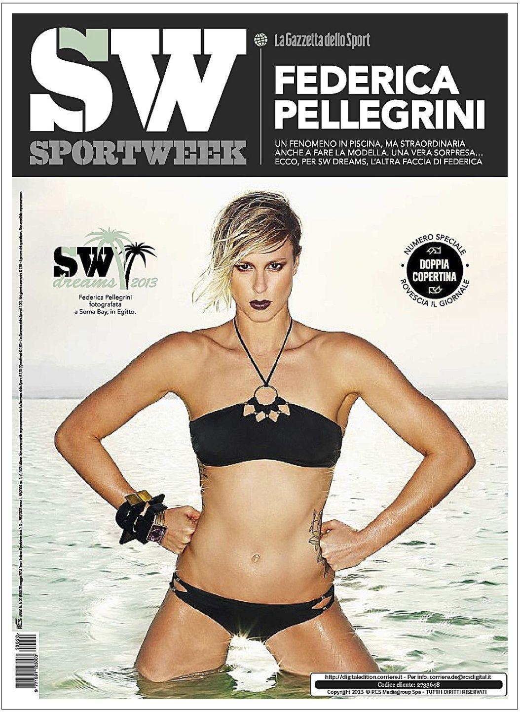 nagykereskedelem designer divat promóciós kód Federica Pellegrini visited us with Sport Week magazine for an ...