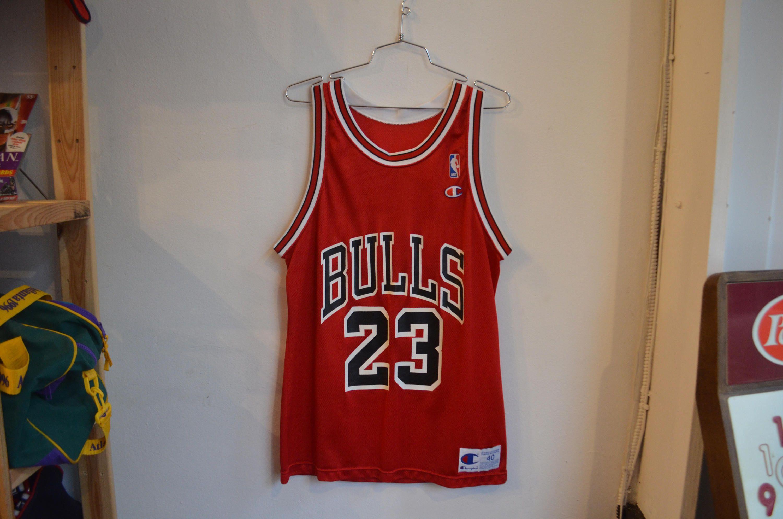 finest selection 8723e 2920a Vintage 90s Champion Michael Jordan Chicago Bulls Jersey by ...
