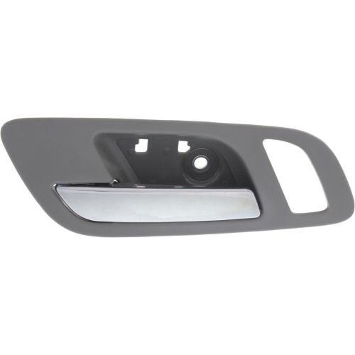 2007 2014 Gmc Sierra Front Door Handle Lh Inside Chrome Lvr Gray Hsg Front Door Handles Door Handles 2014 Chevy