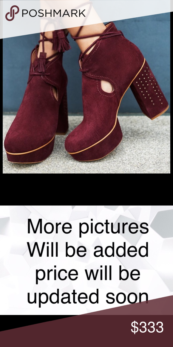 f03c1ee46558 Free People Constantine Wrap Platforms Size 9 NWT Seventies-inspired suede  platforms featuring a lace