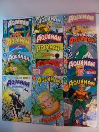 COMPLETE SERIES - ALL 13 ISSUE RUN OF AQUAMAN  #1-13 (DC 1991) *FREE SHIPPING*
