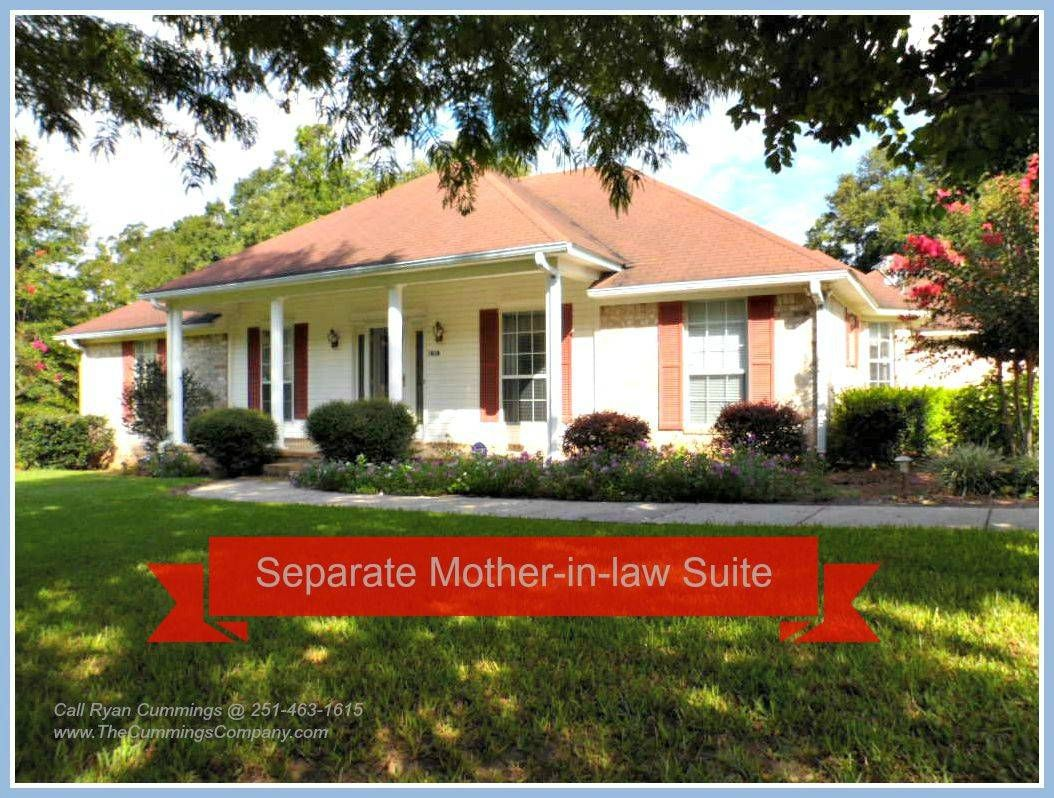 Theodore Home For Sale Separate Mother In Law Suite In Law Suite Architectural Design House Plans House Plans One Story