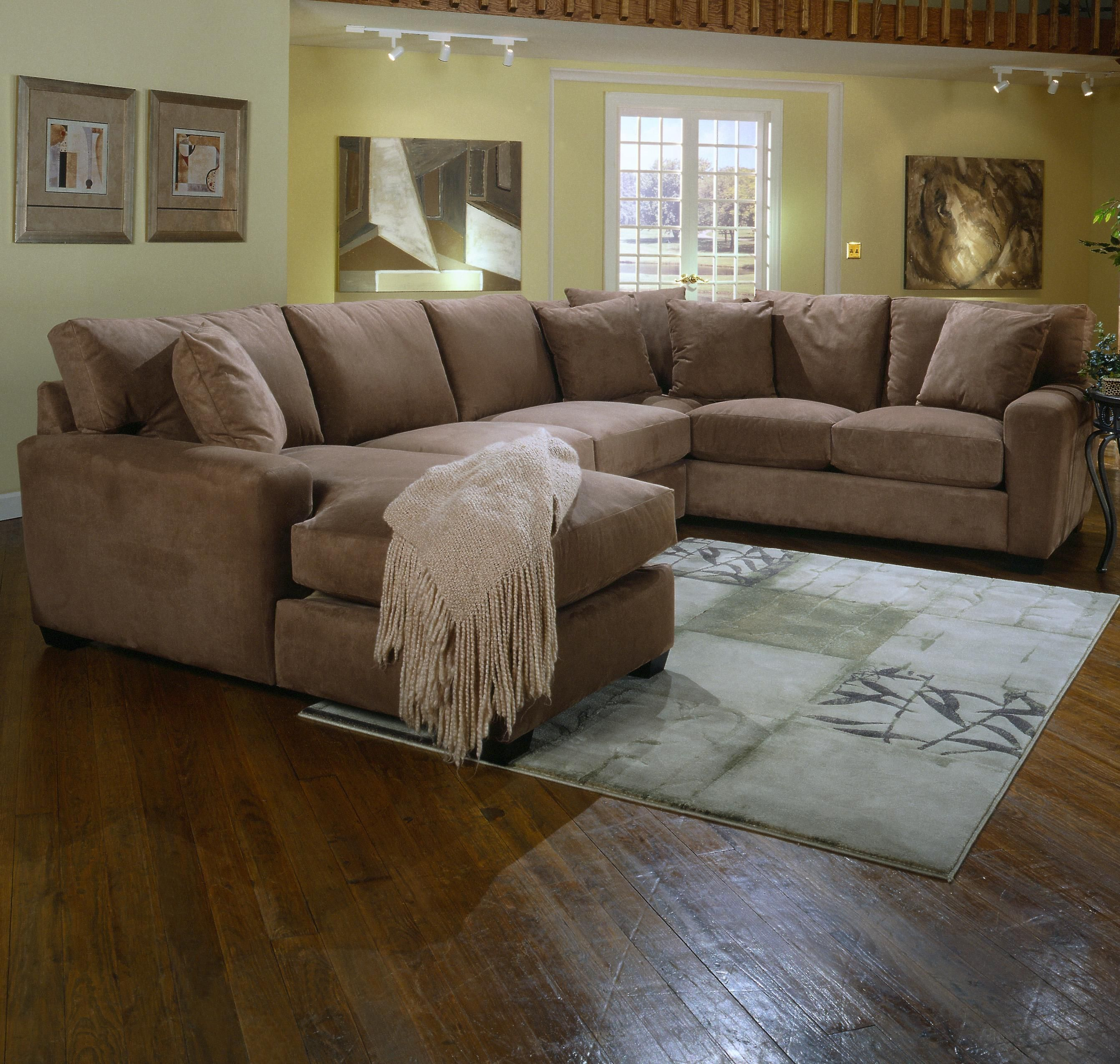 Benson L Shape Sectional With Chaise By Jonathan Louis