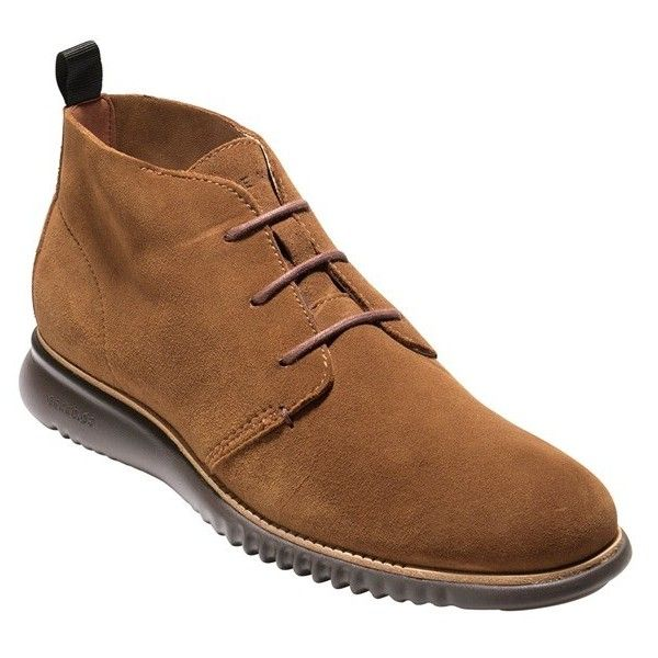 Men's Cole Haan 2.zerogrand Chukka Boot ($300) ❤ liked on Polyvore featuring men's fashion, men's shoes, men's boots, mens chukka boots, mens shoes chukka boots, mens suede shoes, cole haan mens shoes and mens boots