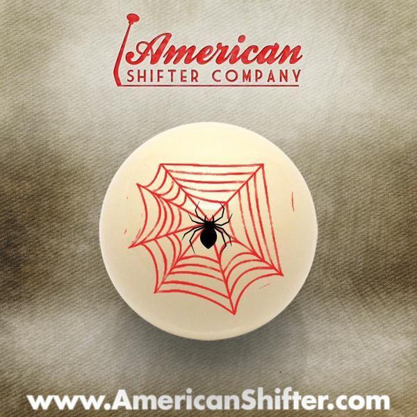 Ivory Spider Custom Shift Knob Opaque