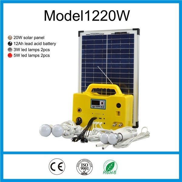 20W SOLAR HOME LIGHTING SYSTEM. | 1220 - 20W SOLAR HOME LIGHTING ...