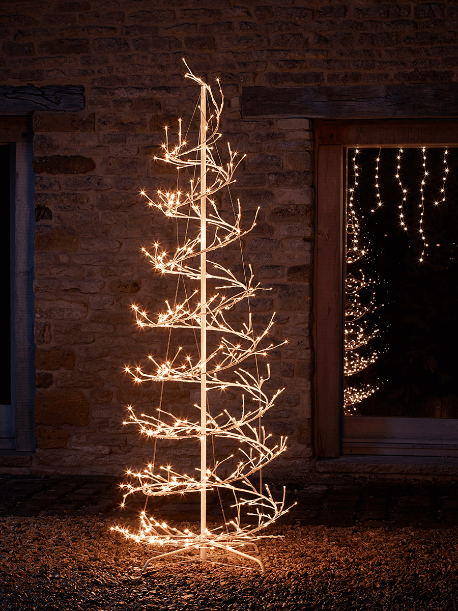 Outdoor light up tree tower christmas pinterest birch fir outdoor light up tree tower mozeypictures Image collections