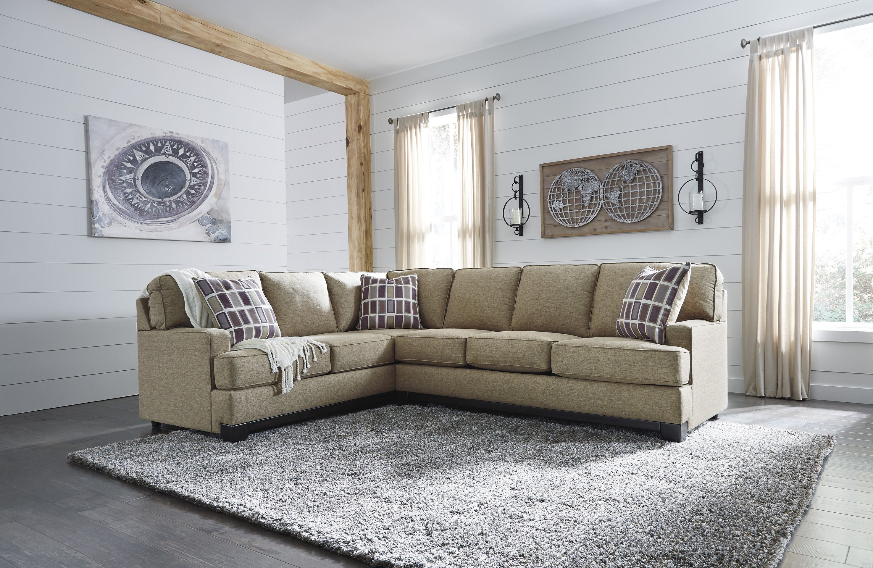 Larkhaven 81902 48 By Ashley Sectional Sofa In 2019 Sectionals