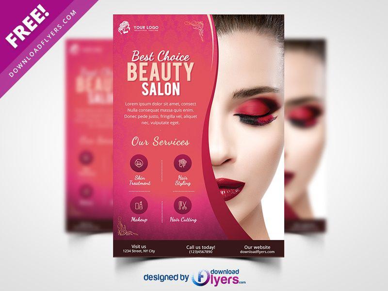 Beauty Salon Flyer Template Free Psd Flyer Template Free Flyer Templates Template Free