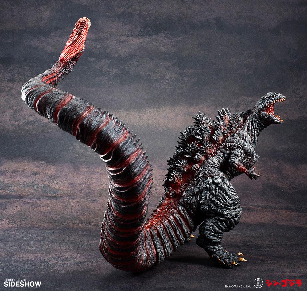 Shin Godzilla Collectible Figure From Art Spirits Sideshow Collectibles Godzilla Monstros Colecionaveis