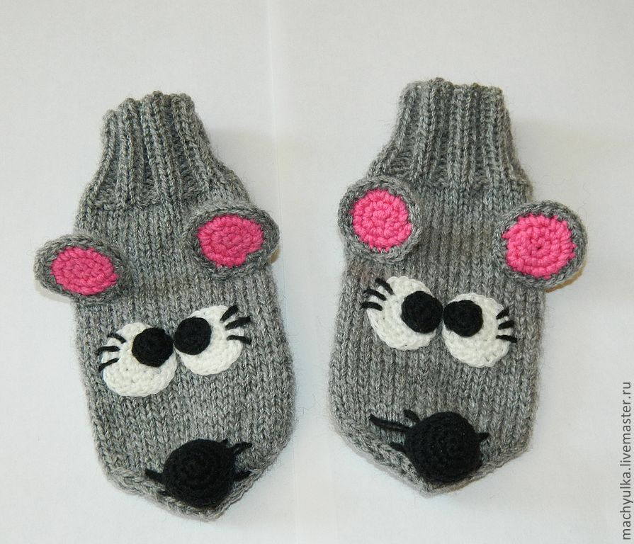 Easy Knit Mittens Pattern : Knitting patterns, Knitting and Mittens on Pinterest