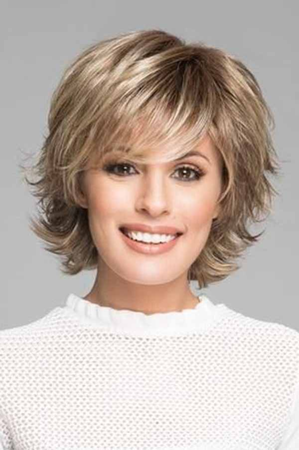 15 Classy And Simple Short Hairstyles For Women Over 50 You Can T Avoid Short Haircut Styles Thick Hair Styles Short Hair Styles Easy
