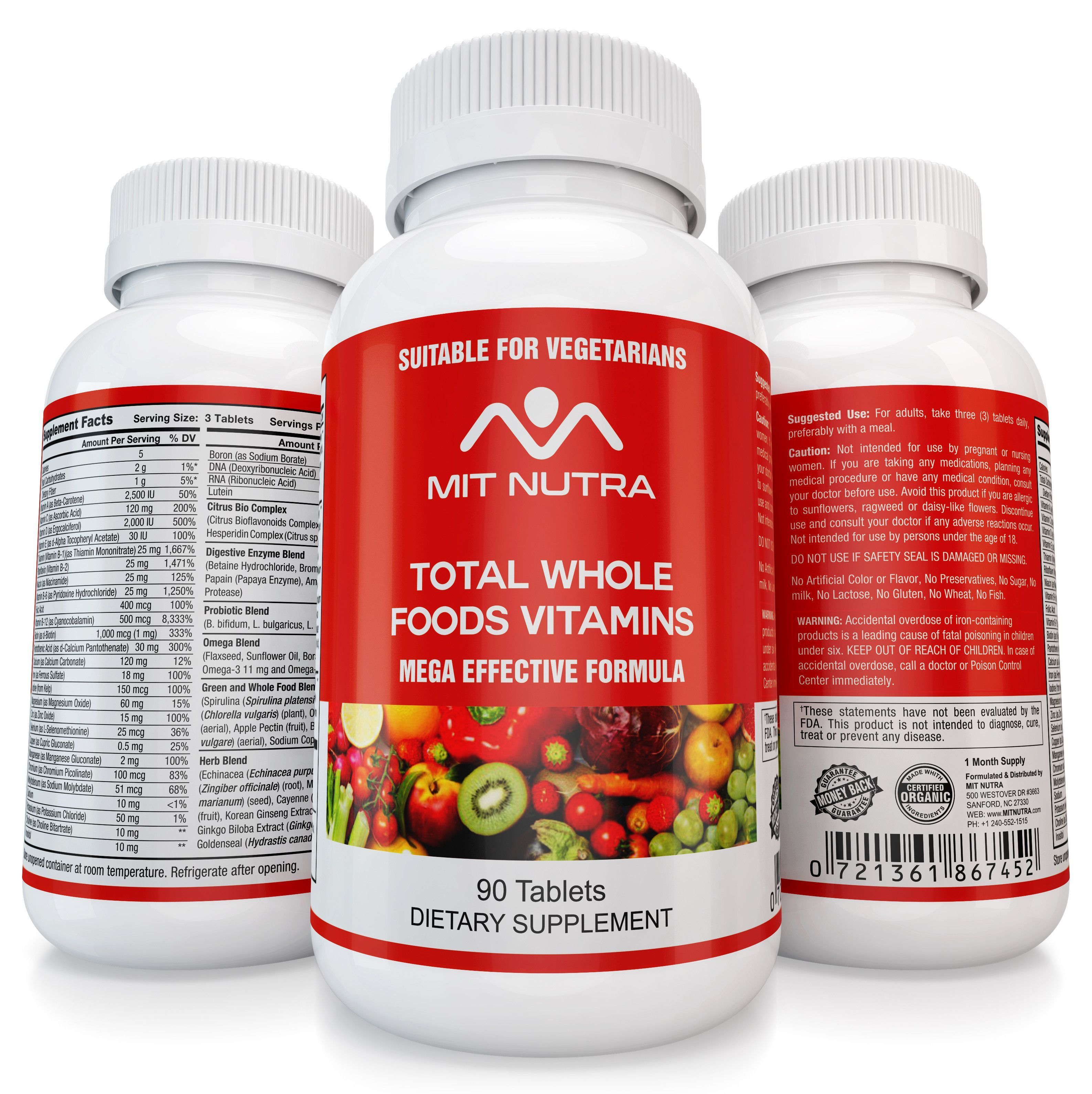 Total Whole Foods Vitamins