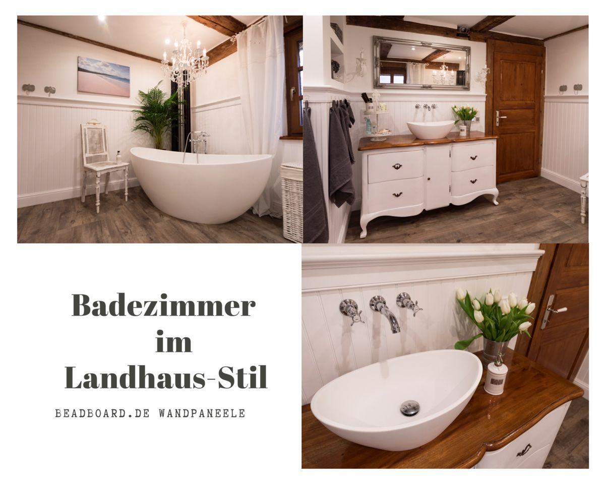 Badezimmer Mit Paneelen Aus Mdf In 2020 Wandpaneele Badezimmer Home Staging