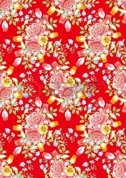 red lace: red rose background element design pattern  Stock Photo