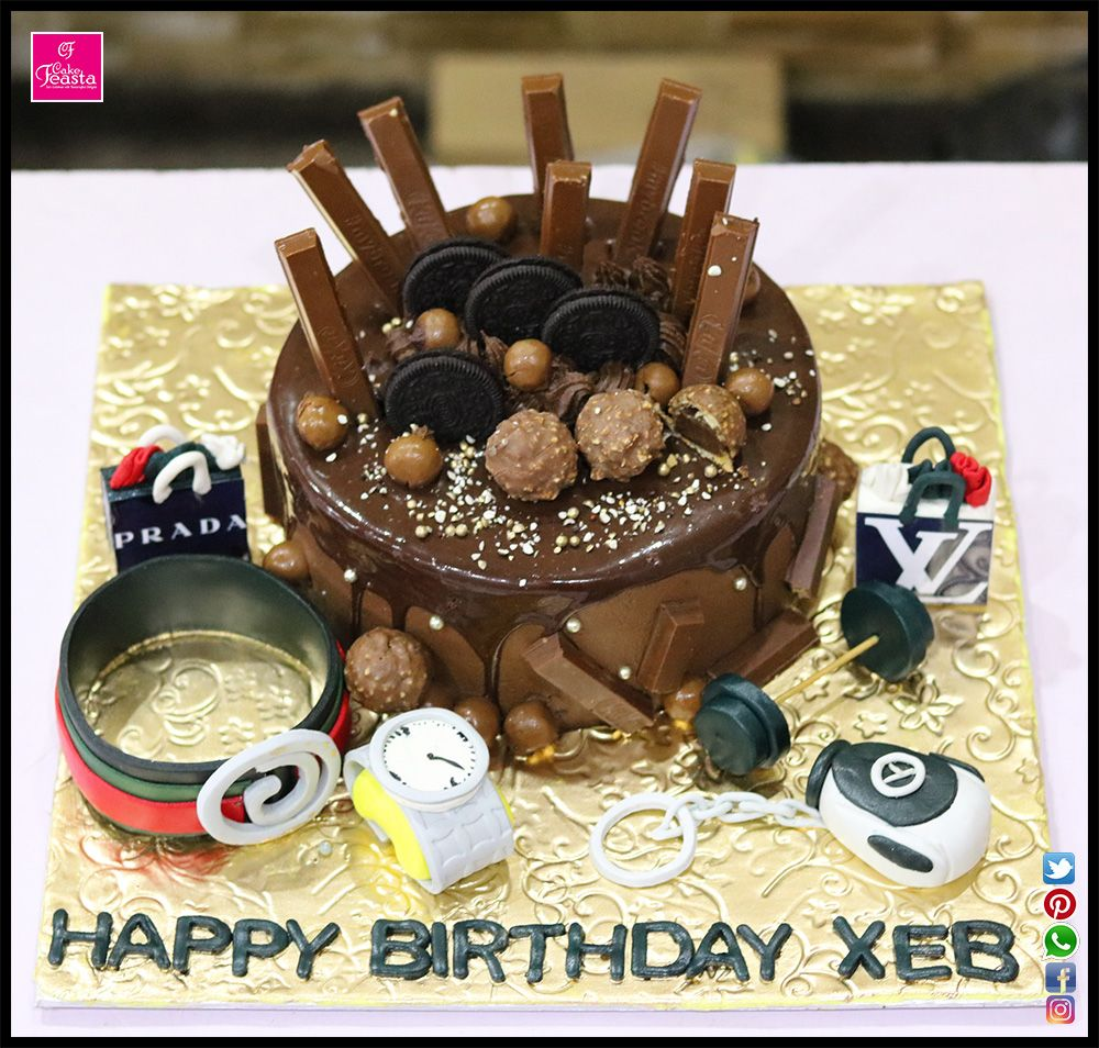 Chocolate Customize Birthday Cake Happy Birthday Cakes Birthday Cake Happy Birthday Cake Images