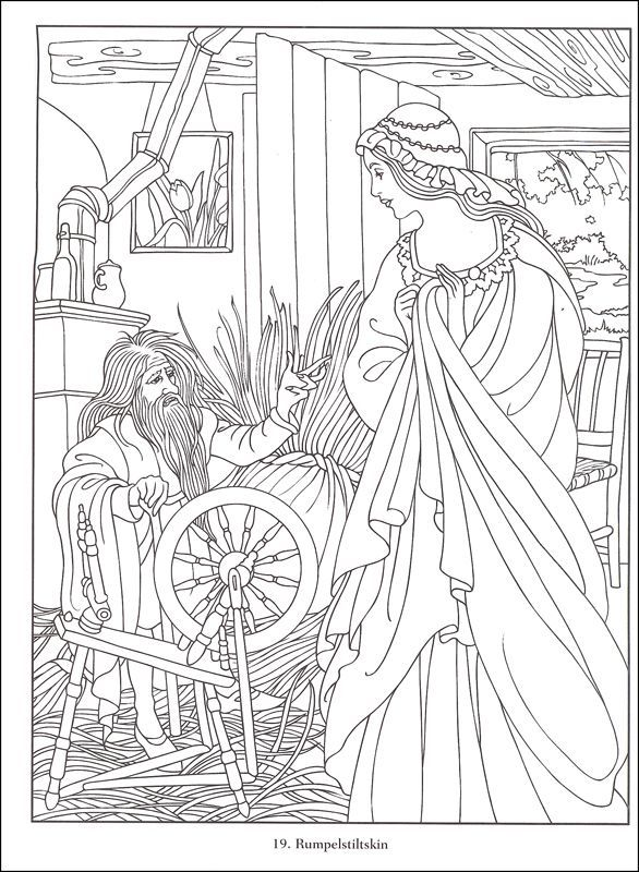 Famous Fairy Tales Coloring Book Additional Photo Inside Page Coloring Books Fairy Coloring Pages Fairy Coloring