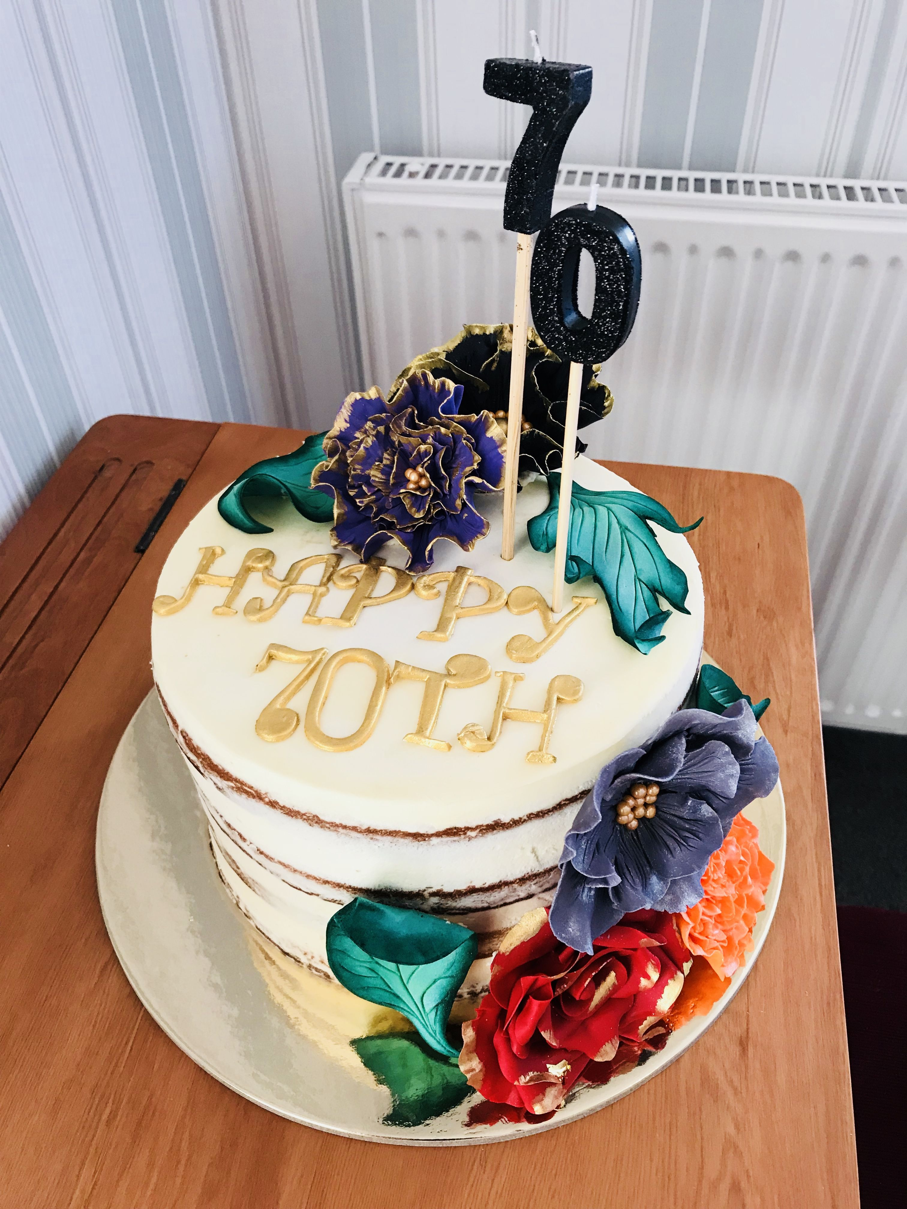 Flower cake birthday cake kids cake birthday cake