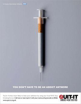 Tal qual outras drogas...até mais dificil...
