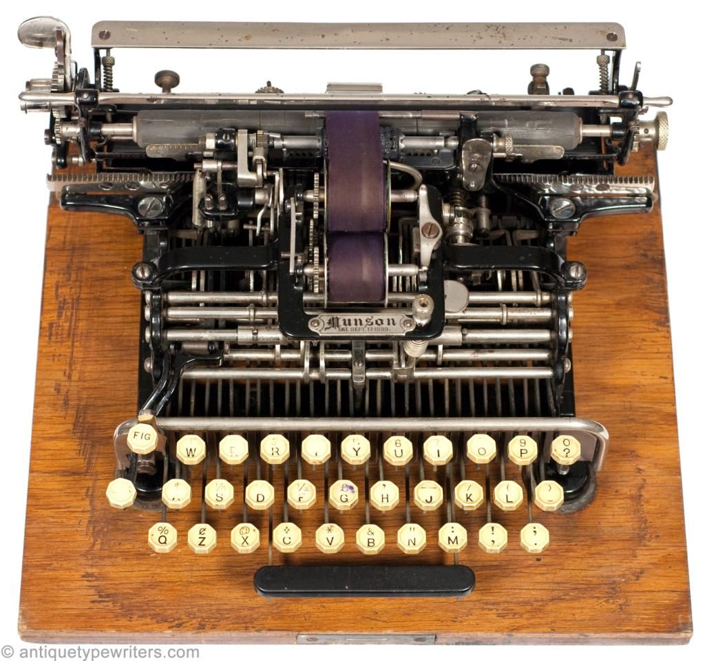 The World's First Typewriters