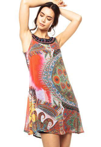 96e2a18afd24 Vestidos 2018 / 2019 - De moda y baratos   Dafiti Colombia Dobladillo,  Bordado A