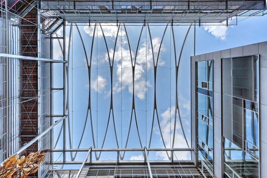Dwi aachen atrium pneumatic etfe roofing temme - Maison pg architekten wannenmacher moller ...