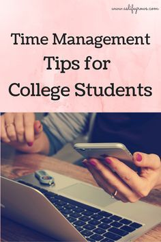Are you struggling with how to manage your time in college? This post is full of time management tips for college students!