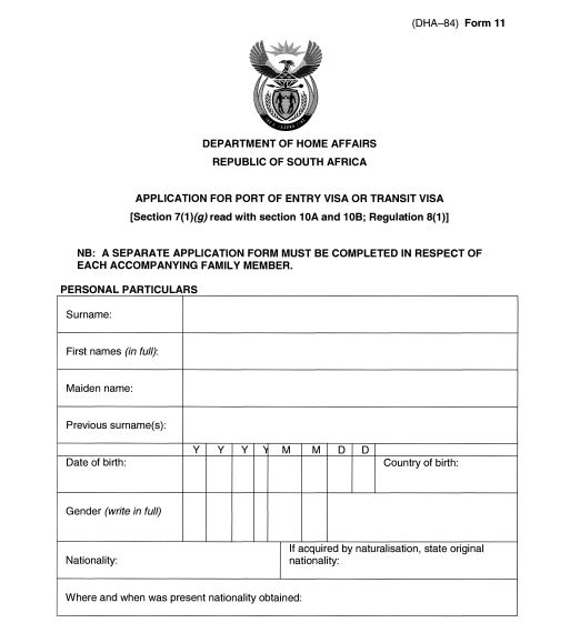 South African Birth Certificate Template (10) TEMPLATES