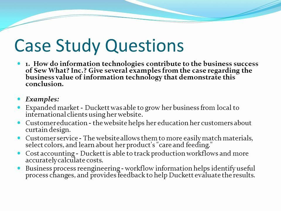 Examples Of Case Studies Beautiful Case Study Examples In Business Case Study Example Of Case Study Information Technology