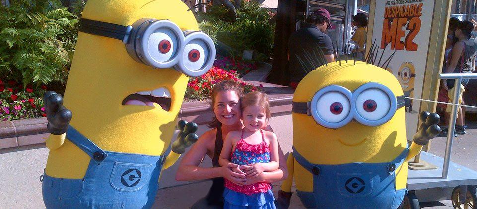 Meet Minions at Universal Studios Hollywood
