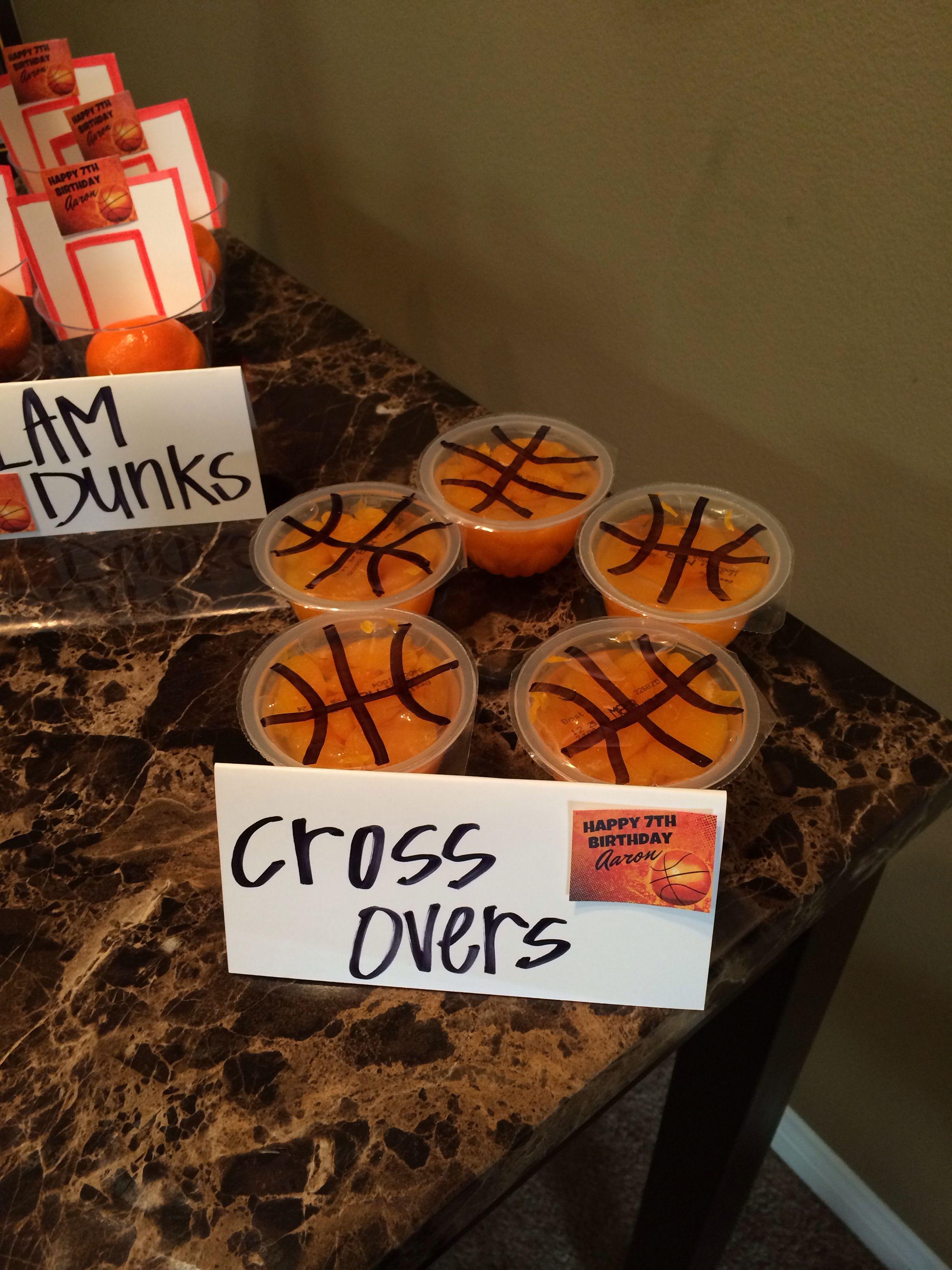 basketball theme food aaron s basketball party pinterest