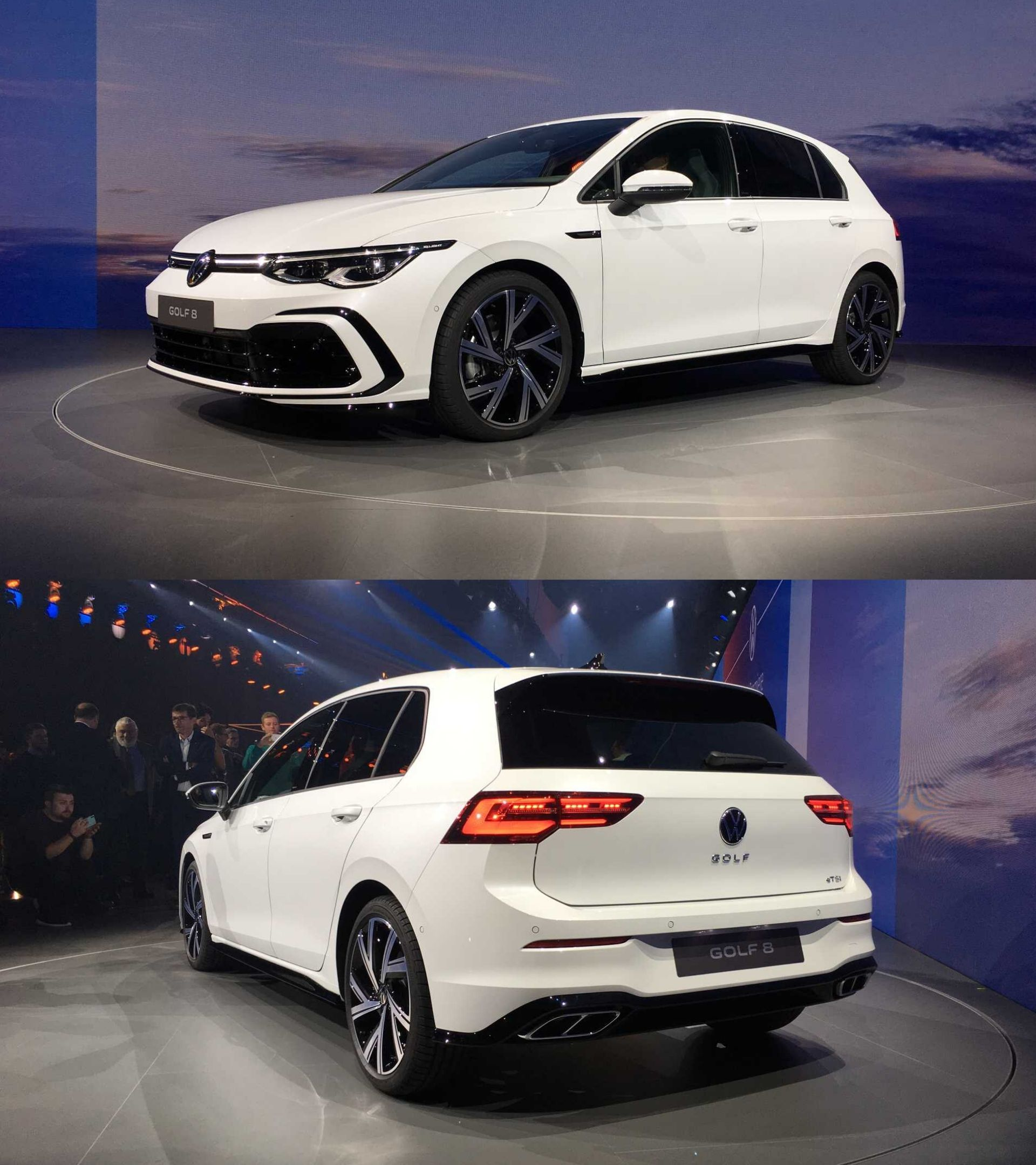Vw Golf 8 Gti 2020 Delayed Engine Performance Price First Information About The New Gti Vw Golf Gti One Pic
