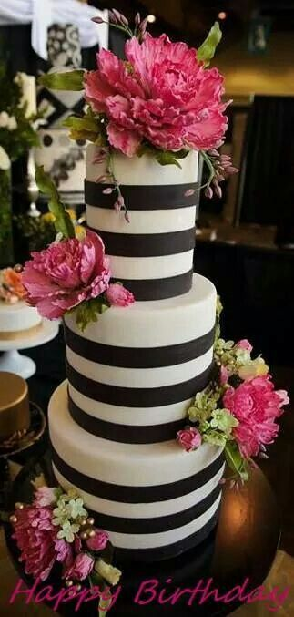 Black And White Cake Colorful Wedding Cakes Wedding Cake Designs Cake
